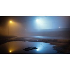 Foggy night part 3 by Marius Krivičius