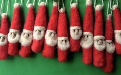 Needle Felted Ornament Chicago, Illinois  #Kids #Events