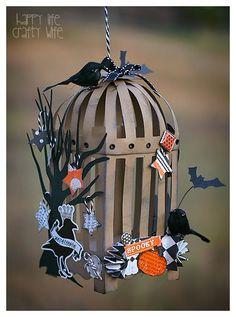 Spooky Bird Cage - Happy Life Crafty Wife