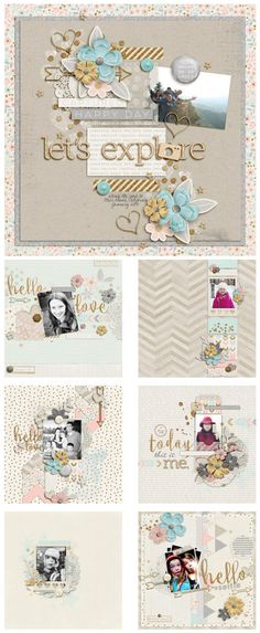#papercrafting #scrapbook #layout  by zpearn-abeautifullife-jan-layouts1