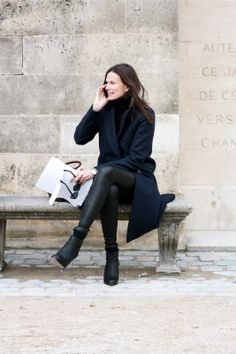 Paris Fashion Week Fall 2013/2014, street style #10