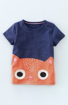 Mini Boden 'Chase Your Tail' Tee (Toddler Girls, Little Girls & Big Girls)