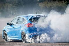 Ford Focus RS burning rubber and drift Available soon at Chino Hills Ford #ChinoHillsFord # & 2.3l DOHC D.I. turbocharged 4 cylinder EcoBoost for 2016 Ford ... markmcfarlin.com