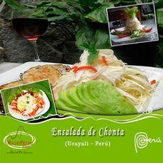 Ensalada de Chonta - Gastronomía Peruana