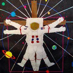 "provocative-planet-pics-please.tumblr.com Vitruvian astronaut crucifix2015""Original art by our very own lead vocalist/guitarist Ben Verner! #wormholes #wearethewormholes #space #astro #astronaut #planets #alien #music #rock #spacejam #charlotte #nc #noda #clt #plazamidwood #asheville #artist #local #fuckyea #yess #northcarolina #band #vitruvian #crucifix by wearethewormholes https://www.instagram.com/p/BCdHIY9TTxp/"