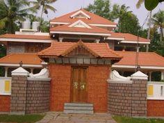 Top 100 der besten indischen Hausdesigns Modellfotos - Eface Entertainments - Home décor - Indian Home Design, Kerala House Design, Small Wall Stickers, Kerala Houses, Indian Homes, Side Wall, House Elevation, Models, House Front