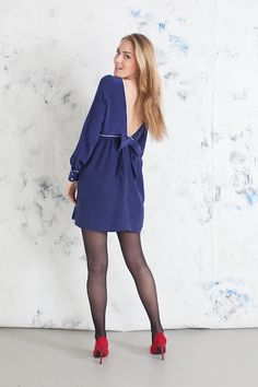 Mary Jane Dress in Navy #Fall13 #AnnieGriffin