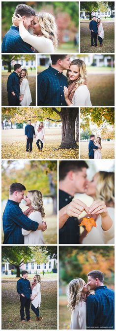 Fayetteville Arkansas Photographer - Leah Marie Landers Photography - Old Main Lawn Engagement Photos