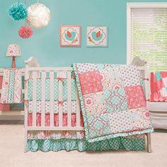 "The Peanut Shell Mila 4 Piece Crib Bedding Set - Peanut Shell  - Babies""R""Us"