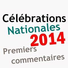 Oh les timbres !: Les célébrations nationales 2014