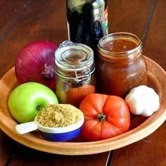 Brown Sugar Balsamic Barbecue Sauce - an easy to make, versatile, sweet and tangy barbecue sauce that tastes terrific on anything from the summer grill.