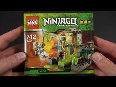 LEGO - Ninjago - Jumping Snake Trap (Schlangenfalle) Unboxing - YouTube