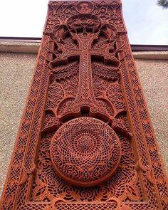Armenian History, Armenian Culture, Armenian Language, Armenia Travel, Saint George, Central Asia, Christian Art, Religious Art, Wood Carving