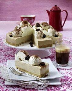 Eiskaffee-Torte