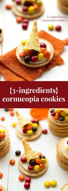 VIDEO: The easiest Thanksgiving treat -- three ingredient cornucopia cookies!