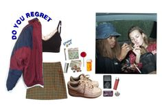 """""""Forgive and forget"""" by grunge-baby-girl on Polyvore featuring B Free, adidas, NIKE, Fred, grunge and 90s"""