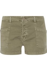 Brona cotton-blend shorts