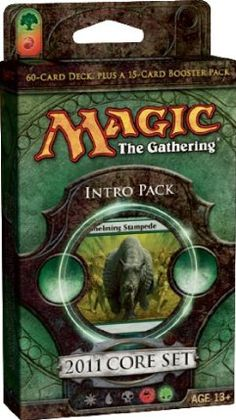 Cheap Magic the Gathering- MTG: 2011 Core Set M11 - Theme Deck - Intro Pack 5 - Stampede of Beasts (GREEN) Lowest Prices - http://wholesaleoutlettoys.com/cheap-magic-the-gathering-mtg-2011-core-set-m11-theme-deck-intro-pack-5-stampede-of-beasts-green-lowest-prices