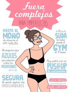 Fuera complejos para imperfectas - Lucía Taboada & Raquel Córcoles
