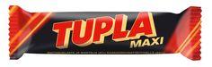 Tupla Maxi Finnish Cocoa Nougat & Almonds Chocolate Bar 57G 2Oz