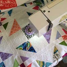 Beautiful quilting from @Marelize Schaefer Ries!