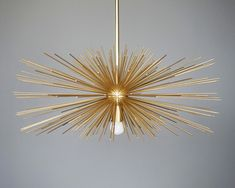 Mid-century modern Urchin Chandeliers for your home