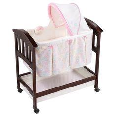 Summer Infant Classic Comfort Wood Bassinet Bedtime Blossom