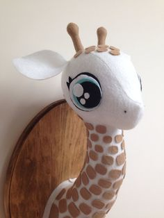 Hey, I found this really awesome Etsy listing at https://www.etsy.com/listing/178020483/giraffe-faux-taxidermy