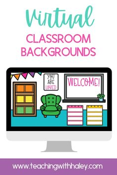 Fun and colorful complimentary virtual classroom backgrounds. Suitable for kindergarten, 1st, 2nd, 3rd grade and, more. Virtual classroom backgrounds are simply images you can add to Google Slides™ or Microsoft™ platforms (like Canvas). This set includes 6 different background images to add your classroom links and apps. Instead of having students navigate a long list of important URLs you can keep them in one place and add help visuals. Learn more to help with remote and distance learning.
