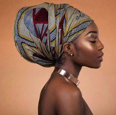Beautiful Women of West Africa: Photo African Beauty, African Women, African Art, African Theme, Black Is Beautiful, Beautiful Women, Mode Turban, African Head Wraps, Dark Skin Girls