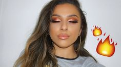 URBAN DECAY NAKED HEAT PALETTE MAKEUP TUTORIAL