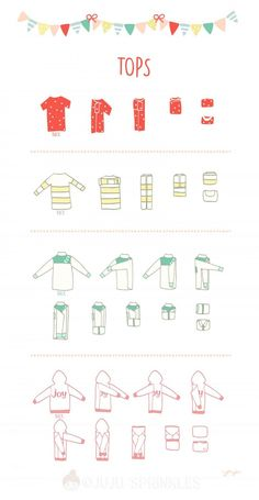 """""""Now that I have KonMari-ed all my clothes, how do I fold them correctly?"""" – Verena S """"Now that I have KonMari-ed all my clothes, how do I fold them correctly?"""" """"Now that I have KonMari-ed all my clothes, how do I fold them correctly? Closet Organisation, Organization Hacks, Clothing Organization, Dresser Drawer Organization, Organizing Clothes Drawers, Organizing Small Closets, Organization Ideas For Bedrooms, Storage Ideas, Clothing Racks"""