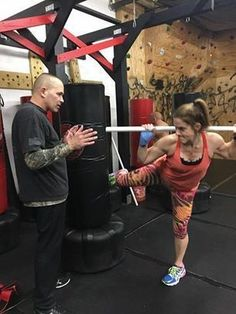 Three60 Boxing & Muay Thai - First Muay Thai class makes 22 of 30. Going home to ice - got my a$$ kicked! Thanks Wayne for training and Christian for your hospitality! Trainerly #joyoffitness #fitnessmom @edanjoygelt