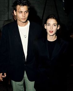 Johnny Depp and Winona Ryder, 90s
