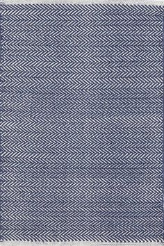 Found it at Wayfair - Herringbone Indigo Blue Geometric Area Rug One other favorite of mine- if you do a navy entry rug- this is a great stair runner.
