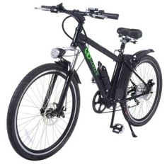 Goplus Electric Bicycle Sports Mountain Bike Variable Speed Lithium Battery w/Cup Holder, Electric Mountain Bikes Folding Mountain Bike, Electric Mountain Bike, Mountain Bicycle, Electric Bicycle, Mountain Biking, Mountain Bike Accessories, Bicycle Accessories, Mountain Bike Reviews, Buy Bike