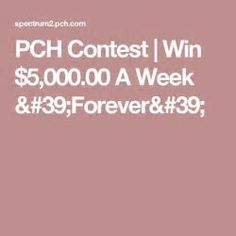 Amit pch sweepstakes