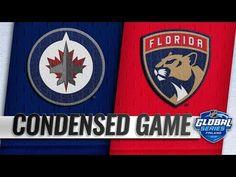 November 1, 2018 - VIDEO - Winnipeg Jets vs Florida Panthers – Nov. 01, 2018 | Game Highlights | NHL 18/19 |  - YouTube Nfl Highlights, Party Logo, Florida Panthers, Jets, Sports News, Nhl, How To Memorize Things, November, Games
