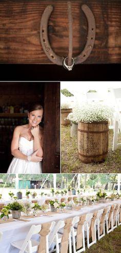 Wellborn Wedding at the Family Farm from Cheryl Dawn Photography, Inc. | Style Me Pretty