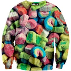 Marshmallow Sweater! OMG. Yes.  Click for more awesome sweatshirts!!