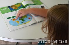 Pearson Homeschool Social StudiesThe text for each lesson is brief, to the point, and not overwhelming. Lessons are further cemented with kid friendly pictures and drawings that engage Leah in what is being taught.