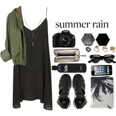 """""""Rainy Day Music Festival Style"""" by beatriz-7 on Polyvore"""