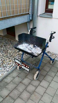 Grill-Rollator