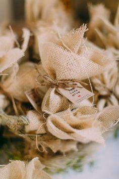 Flower Seed Bomb Wedding Favors