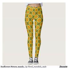 Sunflowers Nature, mandala style 002 02.2 pattern