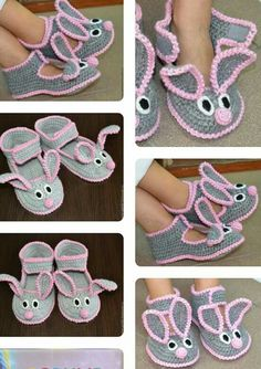 Crochet Baby Shoes, Crochet Baby Booties, Crochet Slippers, Baby Patterns, Knitting Patterns, Crochet Patterns, Knitting Socks, Baby Knitting, Crochet Scarves