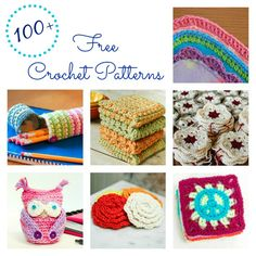 More than 100 free crochet patterns ... #crochet #patterns #free