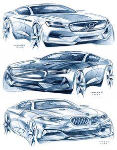 Daily Sketches: pencil studies by Hongru Zhou gallery: Hongru's work: https://www.behance.net/HongruZhou