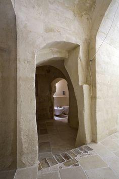 Corte San Pietro Hotel, Matera, Italy, By architect Daniela Amoroso