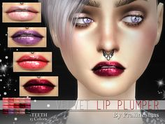 Sims 4 CC's - The Best: Lipstick & Eyeliner by Pralinesims